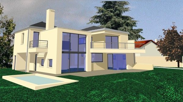 architecte maison individuelle ou group es. Black Bedroom Furniture Sets. Home Design Ideas